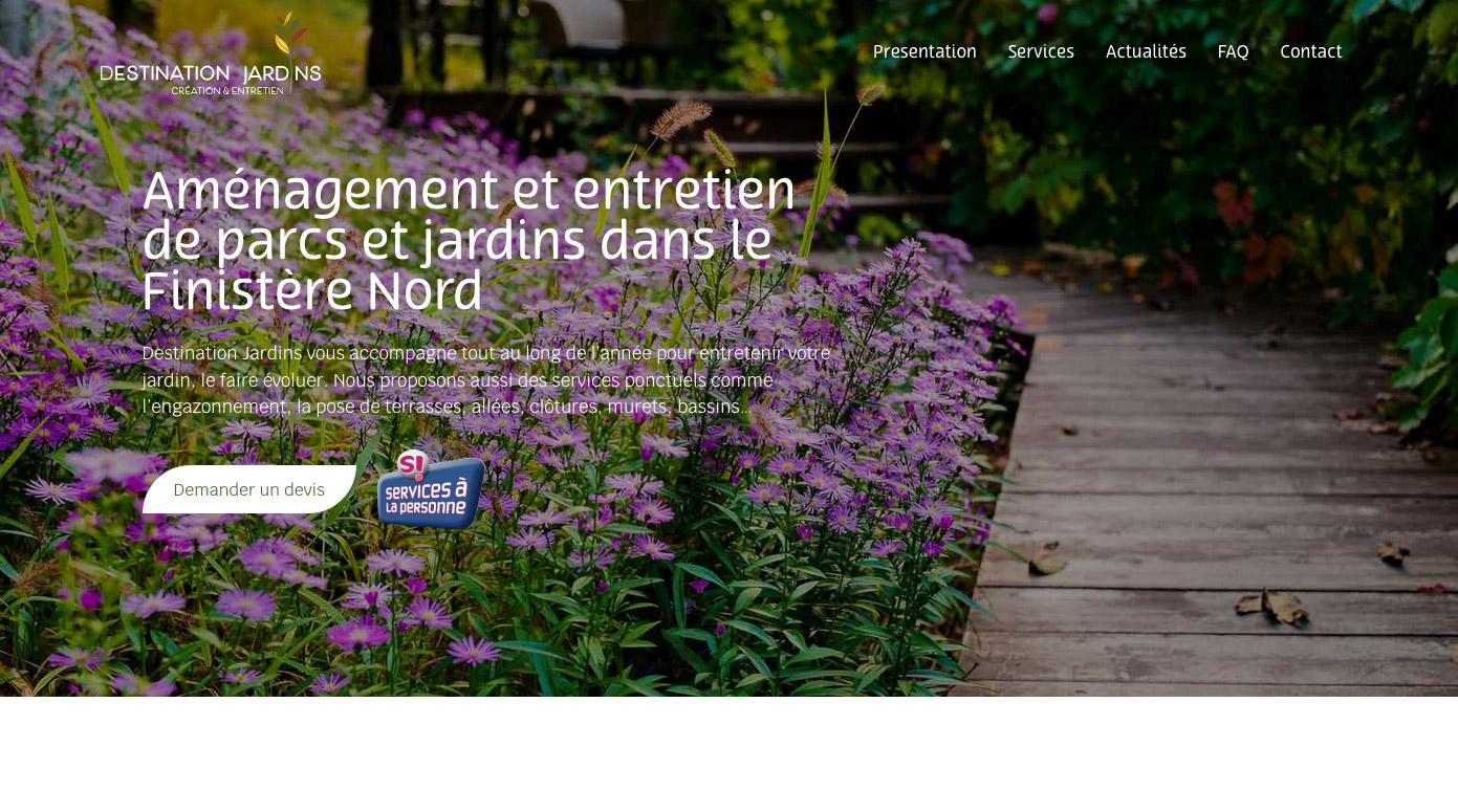 Destination Jardins