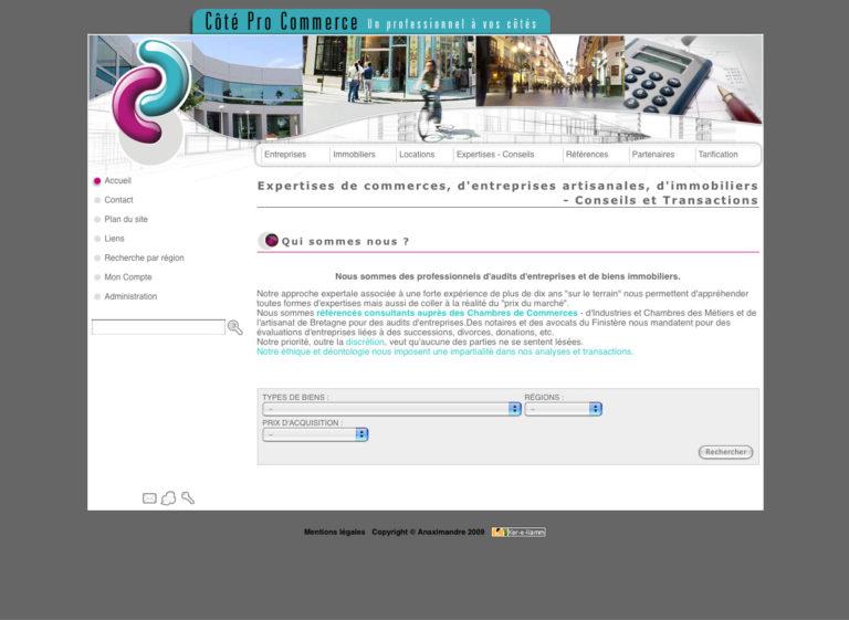 Cote Pro Commerce