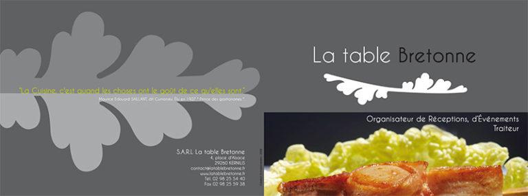 Plaquette Table Bretonne