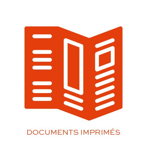 Création de documents imprimés, flyers, brochures, dépliants ...