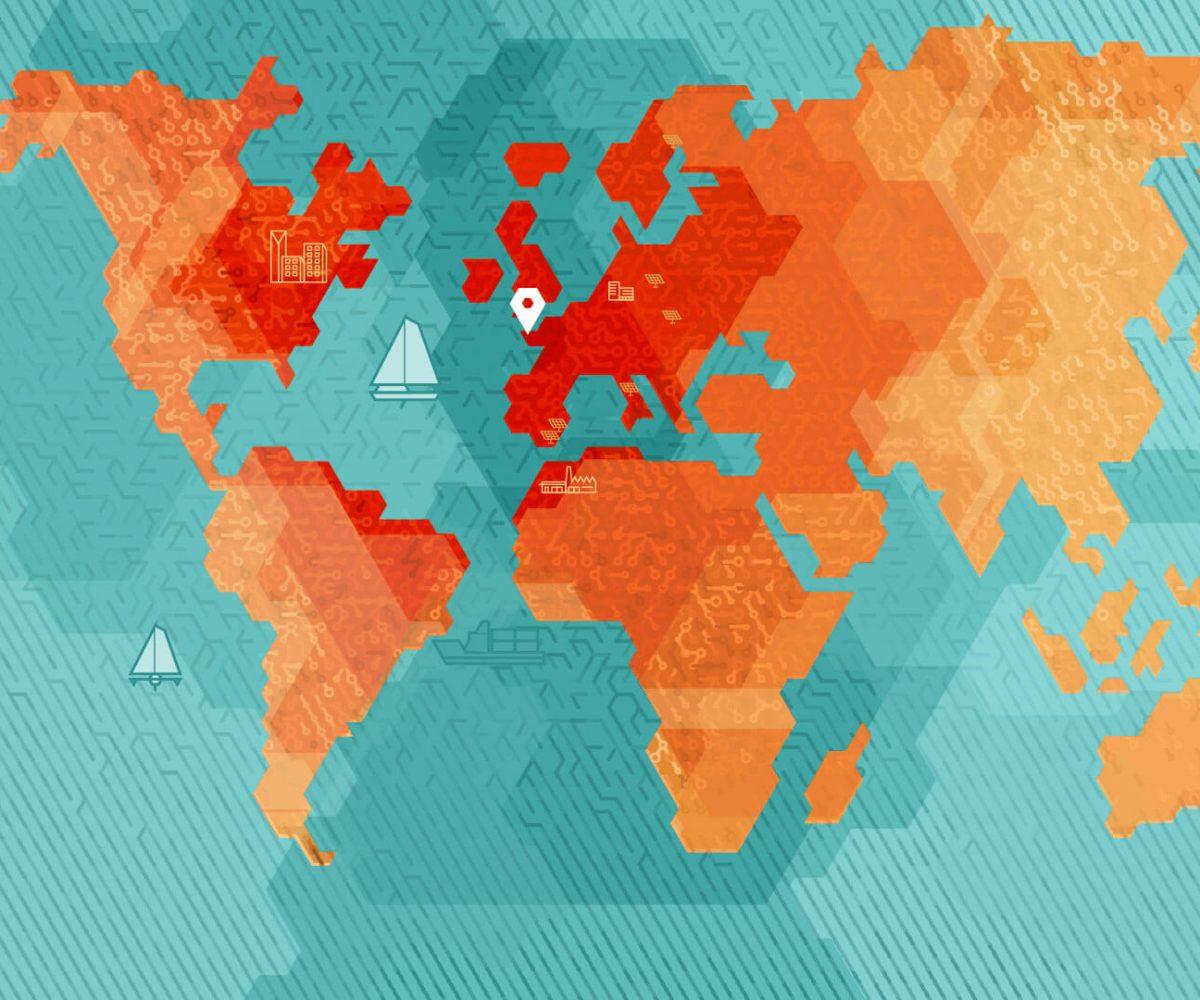 Notre expertise s'étend au monde entier